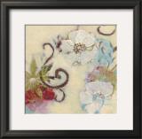 Floral Rhythm III Art by Claire Lerner