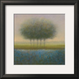Blue Group of Trees Prints by Hans Dolieslager