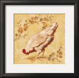 Estate Hen Prints by Laurel Lehman