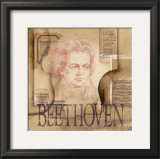 Tribute to Beethoven Prints by Marie Louise Oudkerk