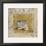 Chaussures Bleues Prints by Véronique Didier-Laurent