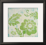 Green Floral Poster by Hope Smith