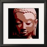 Bouddha II Art by Sylvie Aubert