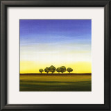 Green Trees I Prints by Joel Harris