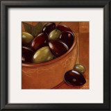 Bol Olives Laurier Posters by Chantal Godbout
