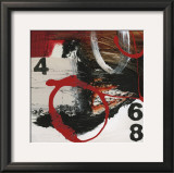 Abstract Numbers Prints by Natasha Barnes