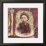 Geisha Poster by Gwenaëlle Trolez