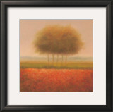 Orange Group of Trees Prints by Hans Dolieslager