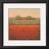 Red Field Prints by Hans Dolieslager
