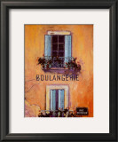 Boulangerie Print by Karel Burrows