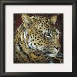 Leopard Portrait Posters by Fabienne Arietti