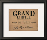 Grand l'Hotel Prints