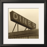 Diner Sign Art by Walter Robertson