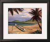 Outrigger Cove Print by Paul Brent
