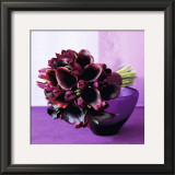 Bouquet of arum lilies Prints by Mary Bartley