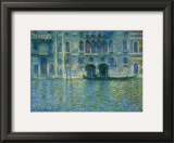 Palazzo Da Mula, Venice Prints by Claude Monet