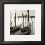 Venetian Gondolas III Prints by Bill Philip