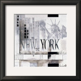 New York, WTC Why Print by Marie Louise Oudkerk