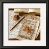 Authour d'Un Herbier Print by Celine Sachs-jeantet