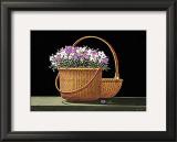 Baskets Of Nantucket Print by Robert Duff