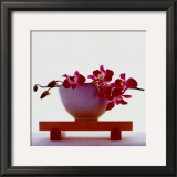 Magenta Orchids Posters
