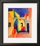 The Casbah Posters by Auguste Macke