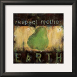 Respect Mother Earth Prints by Wani Pasion