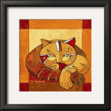 La Sieste du Chat II Prints by Michèle Neuhard
