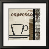 Espresso Fresco Prints by Tandi Venter