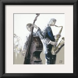 Jazz Band Print by Bernard Ott