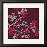 Cherry Tree Branch Prints by Adeline Bec