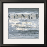 Songe Posters by Michelle Boissonot