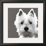West Highland Terrier Prints by Emily Burrowes