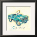 C is for Car Prints by Catherine Richards