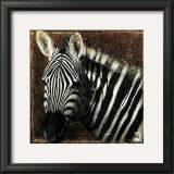 Zebra Portrait Prints by Fabienne Arietti
