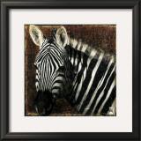Zebra Portrait Prints by Fabienne Arietti