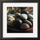 Bowl with Pebbles Print by Jean-Michel Ruiz