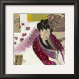 Kimono Poster by Sabine Gotzes
