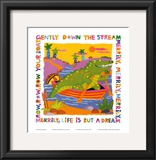 Row Your Boat Poster by Cheryl Piperberg