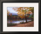 Golden Autumn Prints by Diane Romanello