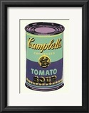 Campbell&#39;s Soup Can, 1965 (Green and Purple) Posters by Andy Warhol