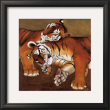 Sleeping Tigers Prints by LISA BENOUDIZ