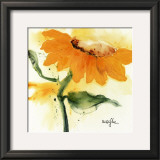 Sunflower IV Print by  Marthe