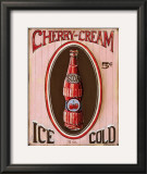 Cherry Cream Poster by Gregory Gorham