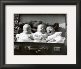 Briefcase Triplets Prints