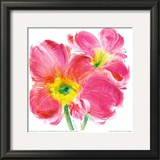 Flowers Symphony II Print by Celeste 