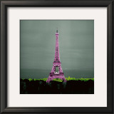 Pinky Tower Prints by Anne Valverde
