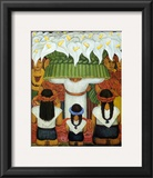 Flower Festival: Feast of Santa Anita, 1931 Prints by Diego Rivera