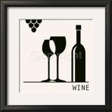 Wine Posters by Ute Nuhn