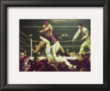 Dempsey and Fipro, 1924 Prints by George Wesley Bellows